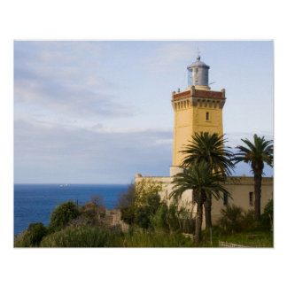 Tangier Morocco lighthouse at Cap Spartel Poster