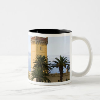 Tangier Morocco lighthouse at Cap Spartel Two-Tone Coffee Mug