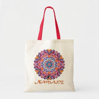 Tangiers Namaste Kaleidoscope Tote Bag