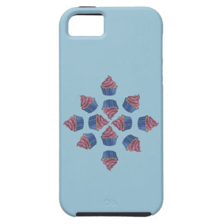 Tangled Cupcake Flower Patterned  iPhone 5 Covers