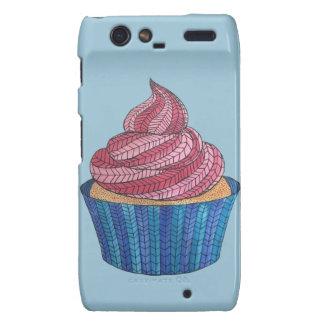 Tangled Cupcake Motorola Droid RAZR Case