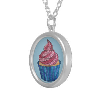 Tangled Cupcake Necklace