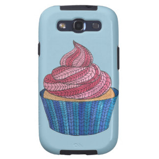 Tangled Cupcake Samsung Galaxy S3 Tough Case Samsung Galaxy SIII Cover