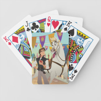Tangled | Eugene & Maximus Bicycle Playing Cards