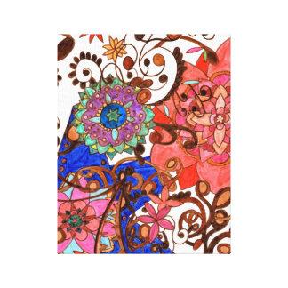 Tangled Garden Canvas Canvas Print