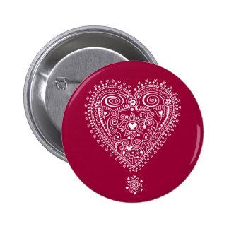 Tangled Love 6 Cm Round Badge