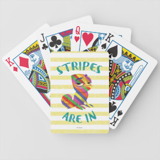 Tangled | Pascal - Stripes are In Bicycle Playing Cards