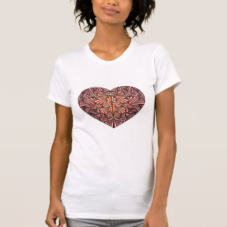 Tangled Red Heart T-Shirt