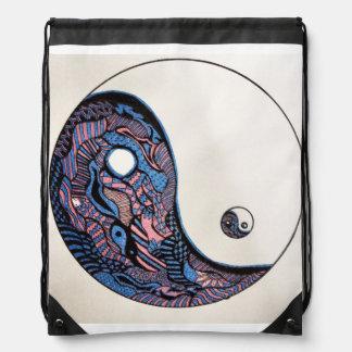 Tangles by Melanie drawstring!!! Drawstring Bag