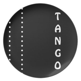 Tango and Dots Plate
