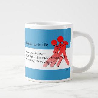 Tango, as in Life - A Tango Haiku Large Coffee Mug