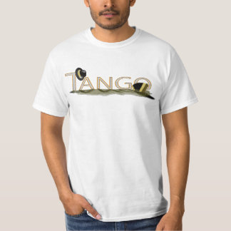 Tango bandoneon and hat large T-Shirt
