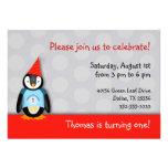 Tango Birthday Party Invitation
