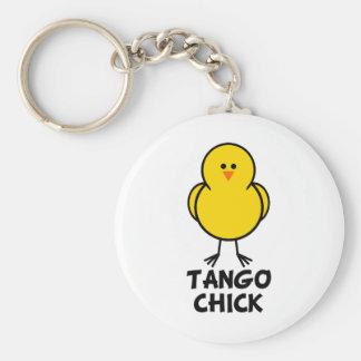 Tango Chick Key Chain