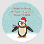 Tango Christmas Address Label