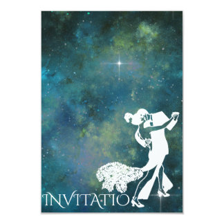Tango Classic Dance Personalized Glam Galaxy Card