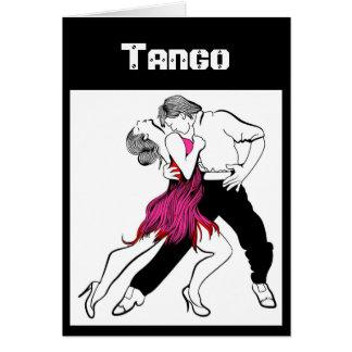 Tango Couple Card