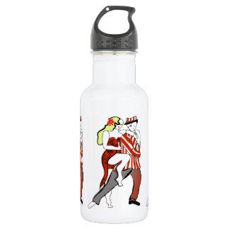 Tango Couple Dancing 532 Ml Water Bottle