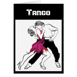 Tango Couple Greeting Card