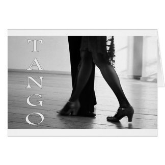 Tango Dance cool design Cards