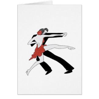 Tango/Dance With Me Card