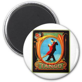 Tango Dancer 6 Cm Round Magnet