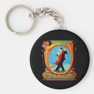 Tango Dancer Key Chains