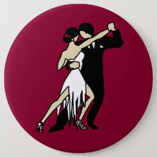 Tango Dancers 6 Cm Round Badge