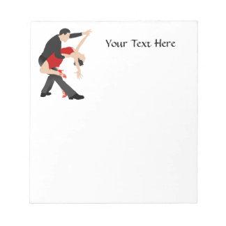 Tango Dancers (customized) Notepad