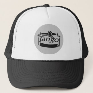 Tango dancers design! trucker hat