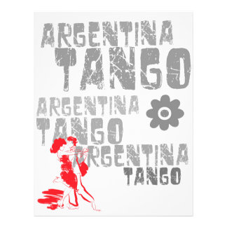 Tango Dancing Custom Flyer