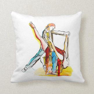 Tango Dancing Throw Cushion