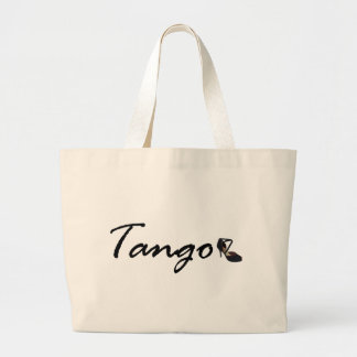 Tango Exclusive Design! Large Tote Bag