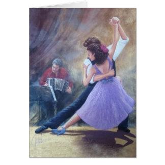 tango fantasia greeting card