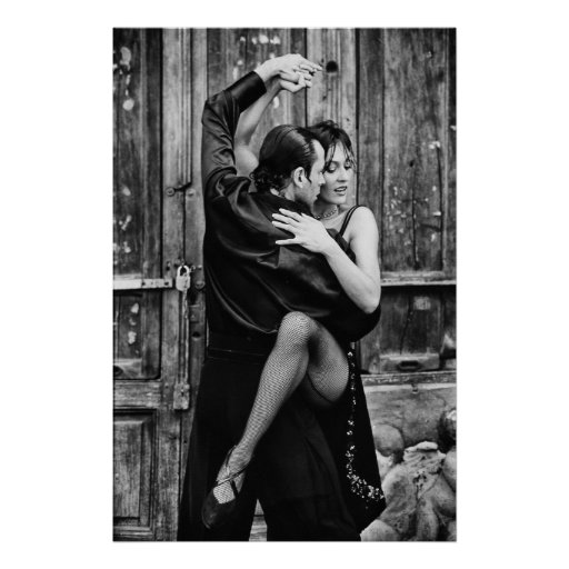 tango for two latin dance poster