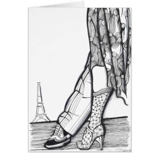 Tango in Paris Greeting Card