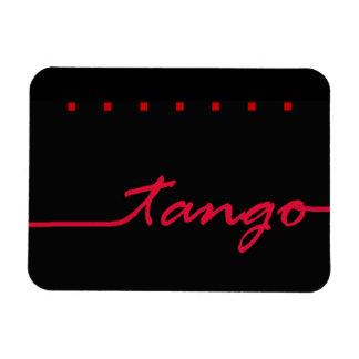 Tango in Red Rectangular Photo Magnet