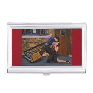 Tango in the Streets Business Card Holder