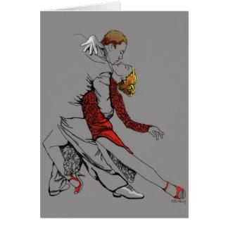 Tango Intimacy Greeting Card