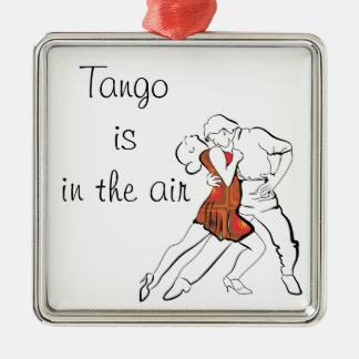 Tango is the Air Christmas Ornament
