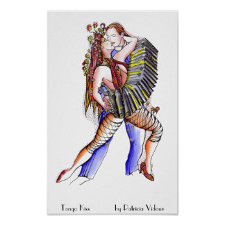 Tango kiss poster