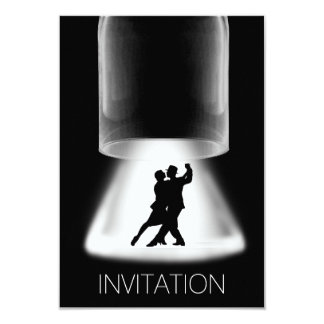 Tango Latin Dance Modern Vip Invitation