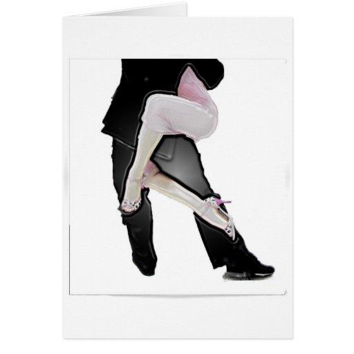 Tango legs cards