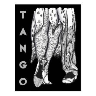Tango Legs Postcard