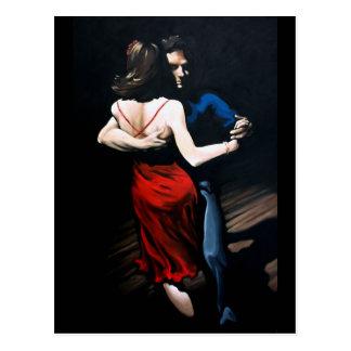 Tango Love Postcard