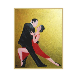 Tango Moment Canvas Print