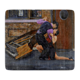 Tango on the Street by Steve Berger Cutting Board