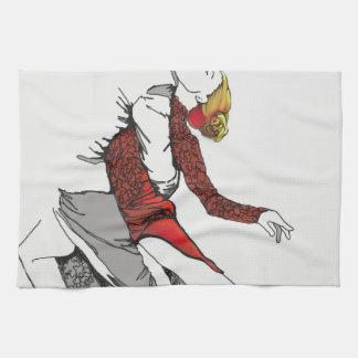 Tango Romance Tea Towel