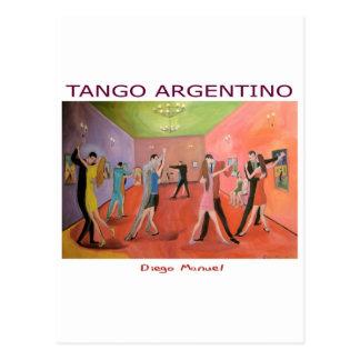 Tangueria 5 postcard