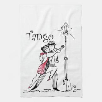 Tangueritos Couple Tea Towel